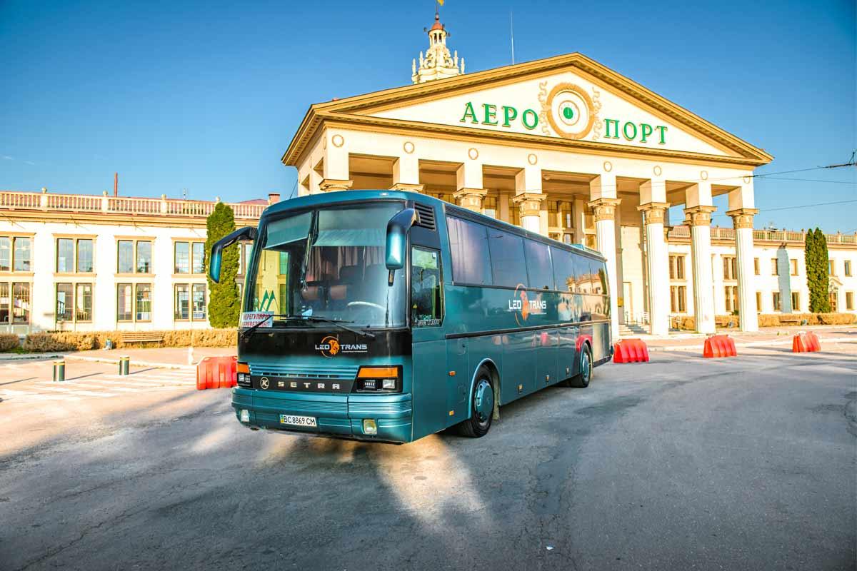 Автобус Setra S250 Special у Львові.