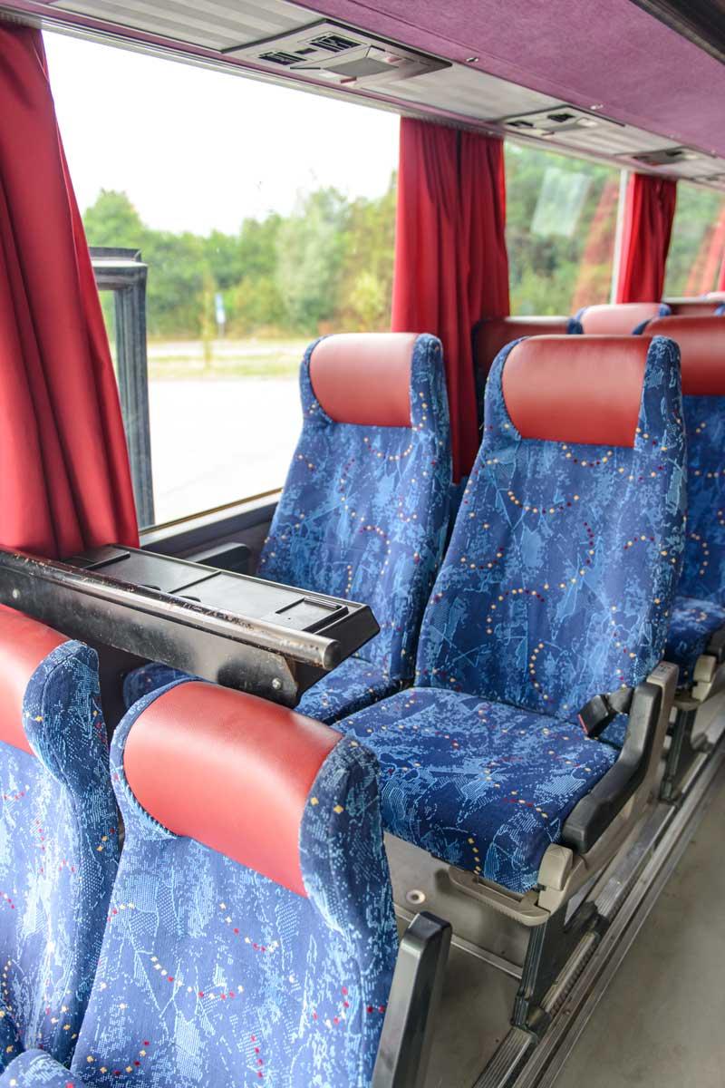 Крісла в салоні Setra S250 Special.