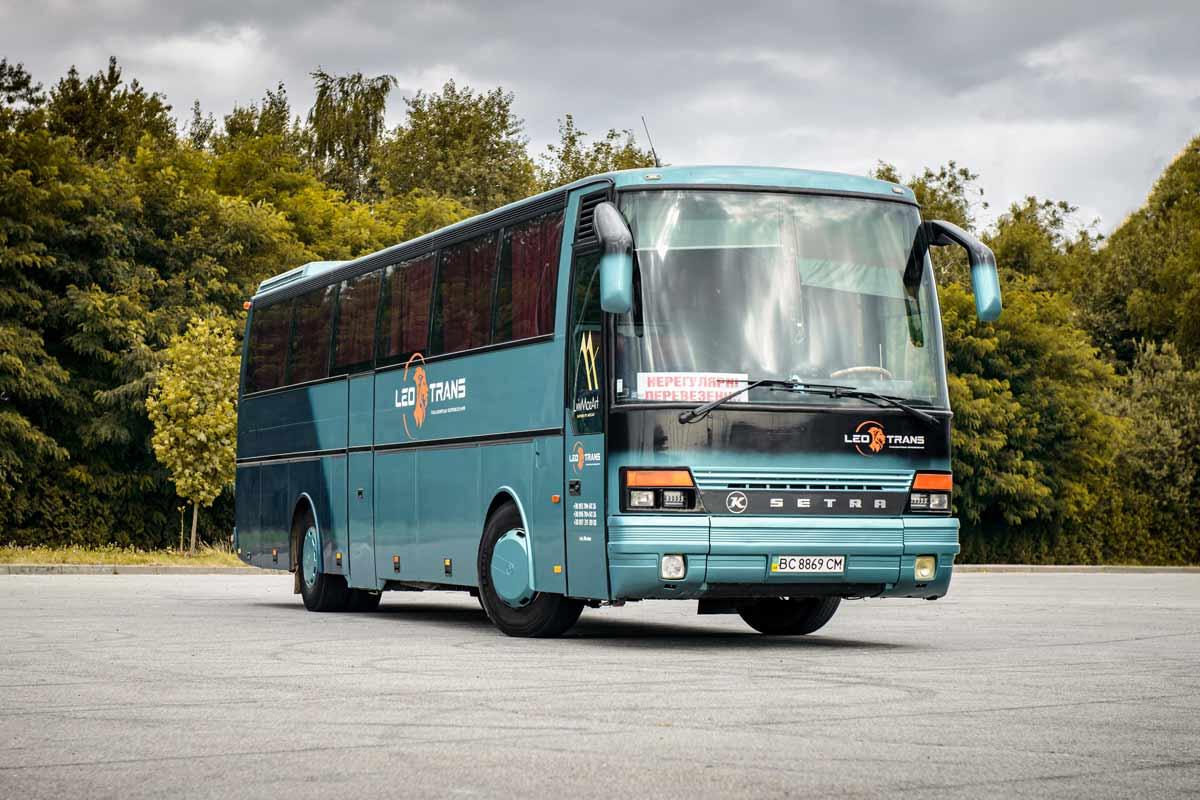 Автобус Setra S250 Special.