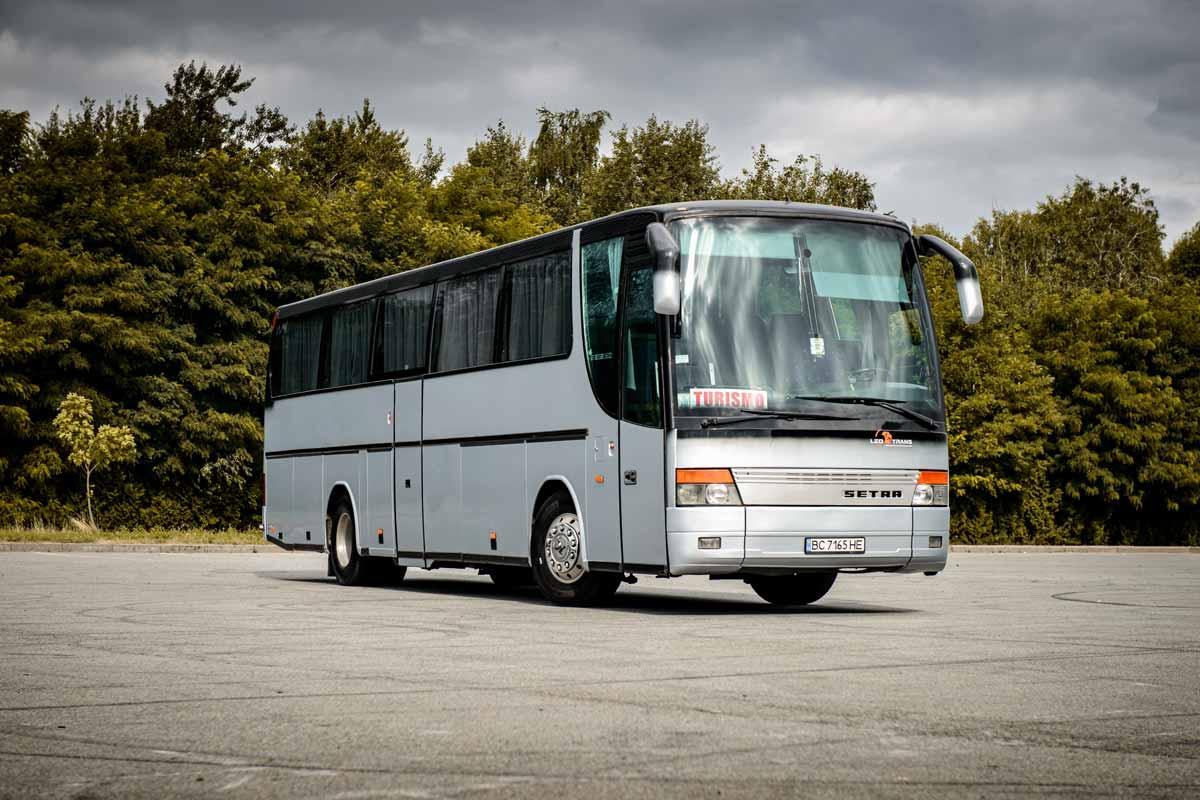 Автобус Setra 315HD.