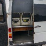 Багажне відділення Mercedes Sprinter 312.