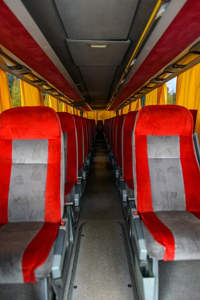 Крісла в Setra 417 GTHD.