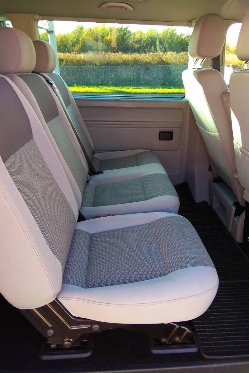 Крісла Volkswagen Caravella.