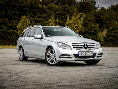 Mercedes C-class.