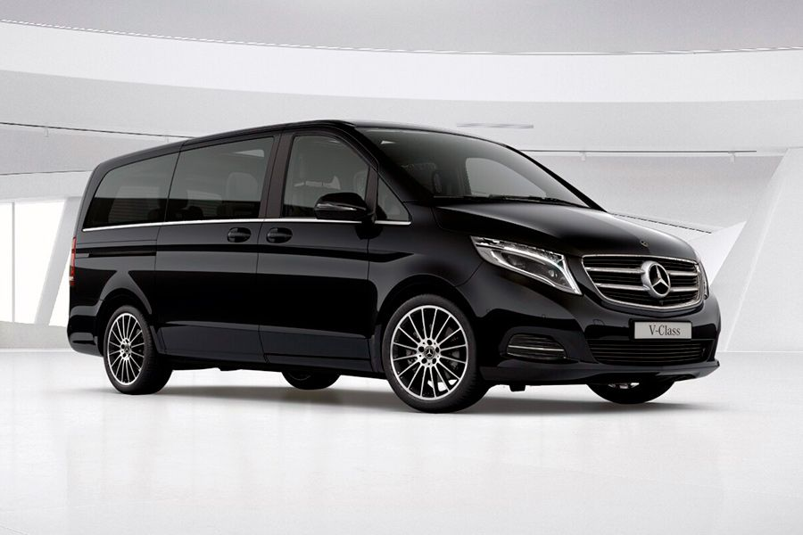 Mercedes V-class.