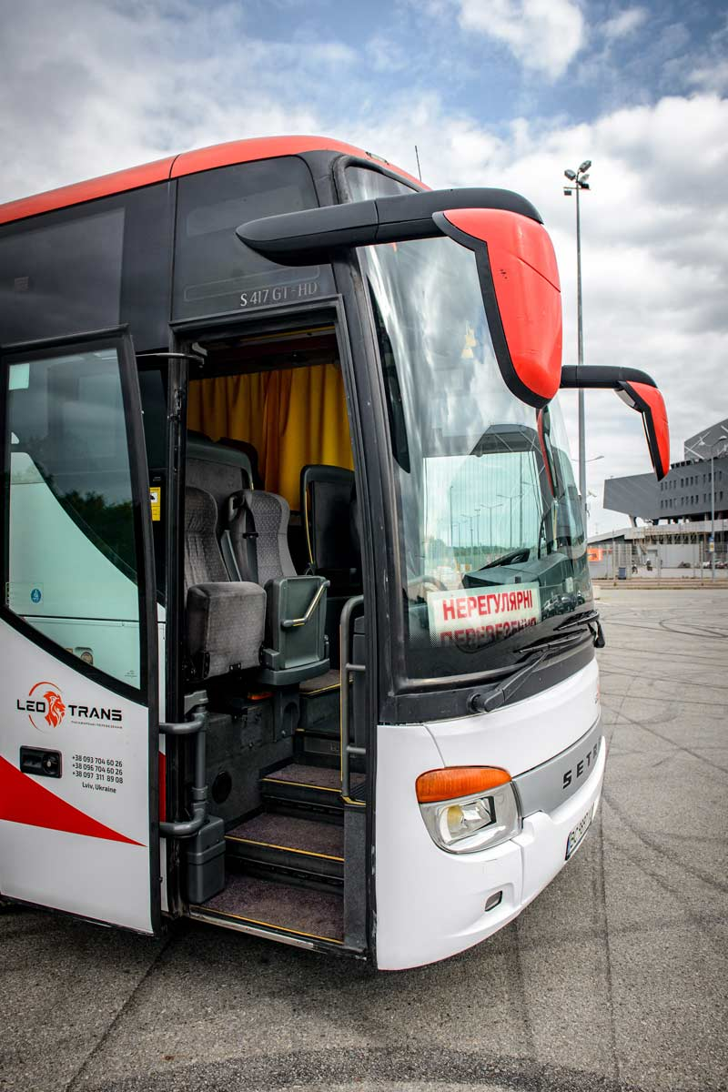 Автобус Setra 417 GTHD у Львові.